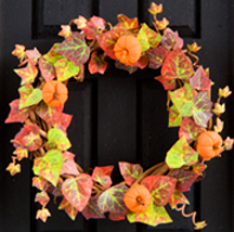 Autumn Ivy wreath