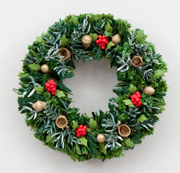 Traditional Evergreen Christmas Wreath