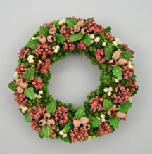 Summer Pink Wreath